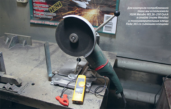 УШМ Metabo WX 26–230 Quick