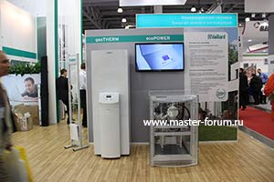 Когенерационная установка Vaillant ecoPower и геотермальный тепловой насос Vaillant geoTHERM VWS 63/3