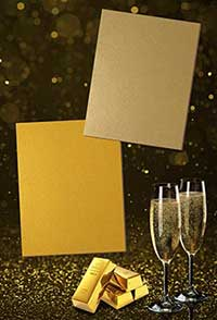 Фасадные панели Rockwool (Роквул) Rockpanel Metallics Champagne и Gold