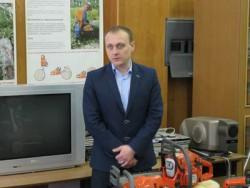 Максим Быковский, декан лесопромышленного факультета МГУЛ